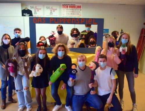Puppenspiel in klas 604