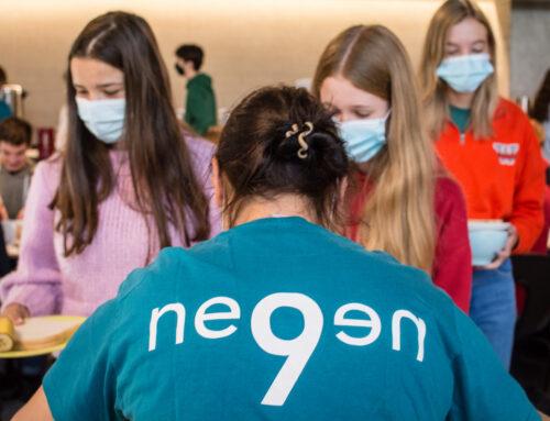 Werkgroep Negen heet 5des welkom met wereldwinkelontbijt